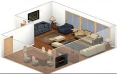 Living Room Design by KK Enterprises