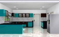 Modern Modular Kitchen by Sharma's Interior & Decorators Private limited