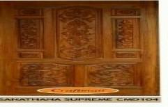 Sanathana Supreme Teak Wood Doors by Maruthi Timber Industries