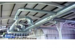 Continuous Monorail Hanger Loop Type Shot Blasting Machines by National Enterprises