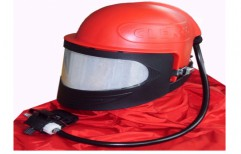 Sand Blasting Helmet by National Enterprises