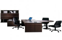 Wooden Office Workstation by Globus Infratech