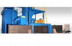 Airless Metallic Conveyor Type Shot Blasting Machine by National Enterprises