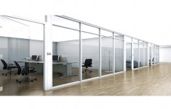 Aluminium Glass Partition by Team Work Glass Solutions Private Limited