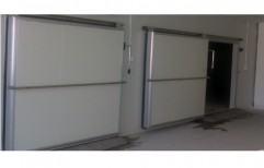 Automatic Cold Storage Door by Sly Enterprises