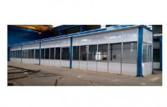Industrial Aluminium Cabin by J. B. N. Glass & Aluminium