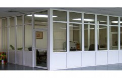 UPVC Office Partition by KYS Infra Developers Private Limited