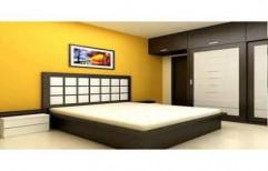 Wooden Bedroom Bed by Ajariya Associates