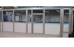 Aluminium Office Partition by Team Work Glass Solutions Private Limited