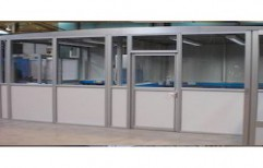 Aluminum Panel Partition by Arun Allumium Window & Glass Works