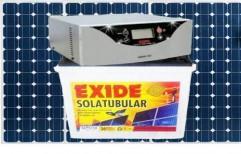 Exide Solar UPS 850va 150ah Battery 2 150wp 300wp Panels by Bhyraveshwara Tyres And Batteries