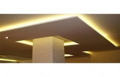Fancy False Ceiling by A Square Associates