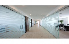 Office Glass Partition by J. B. N. Glass & Aluminium