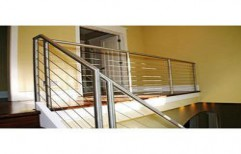 Stainless Steel Railing by Arun Allumium Window & Glass Works