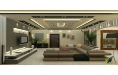 Wooden Living Room Furniture by Ajariya Associates