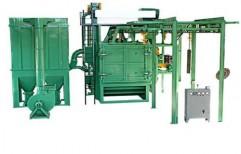 Airless Diabola Type Shot Blasting Machine by National Enterprises