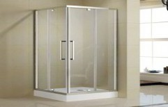 Glass Shower Cubicle by A Square Associates