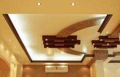 Decorative False Ceiling by A Square Associates