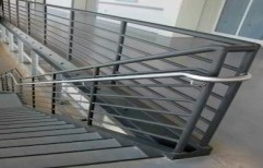 Office Railing by A Square Associates