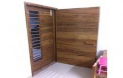 Designer Wooden Door by Ajariya Associates