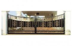 Modern Main Gate by S. S. Fabricators