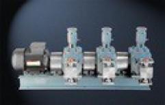 Minimax Stainless Steel Triple Headed Dosing Pumps