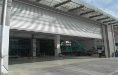 Automatic Aluminum Rolling Shutter by Sly Enterprises