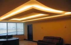 Gypsum False Ceiling by A Square Associates