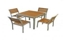 Wooden Dining Table Set by Ajariya Associates