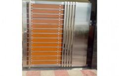 Aluminium Gate by J. B. N. Glass & Aluminium