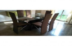 Dining Table 6 Seater by Ajariya Associates