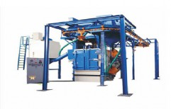 Hanger Type Shot Blasting Machine by National Enterprises