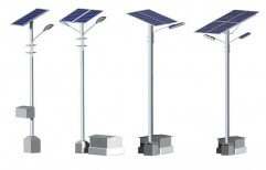 Solar Street Light Pole by Amkay Engineering