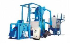 Swing Table Type Shot Blasting Machine by National Enterprises