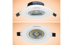 6W Omega Cob LED Downlight Round by Lakshmi Corporations
