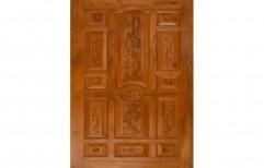 Burma Teak Wooden Door by SM Doors