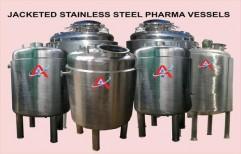 Jacketed Stainless Steel Pharma Vessels by Akshar Engineering Works