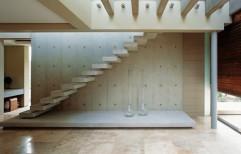 Modern Staircase by Vir Krupa Engineers