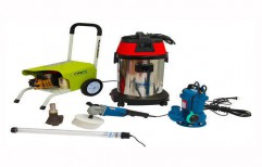 Water Tank Cleaning Kit by NACS India