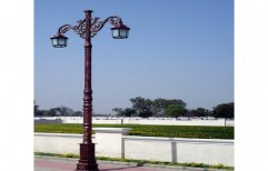 Decorative Outdoor Lighting Pole by J. K. Poles & Pipes Co.