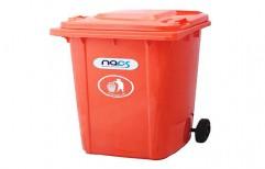 Plastic Rubbish Bin by NACS India
