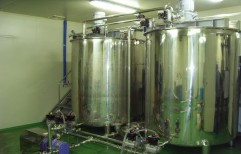 SS Jacketed Tank by Akshar Engineering Works
