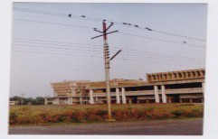 Transmission Line Pole by Quality Enterprises