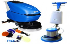 Floor Cleaning Scrubbing Machine by NACS India