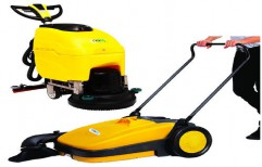 Walk Behind Floor Cleaning Machine by NACS India