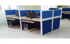 Wooden Office Workstation by Sk Enterprises