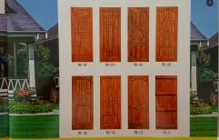 Burma Teak Wood Doors by Shiv Enterprises