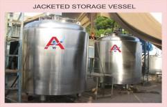Jacketed Storage Vessel by Akshar Engineering Works