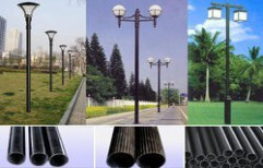 Outdoor Lighting Pole by Quality Enterprises
