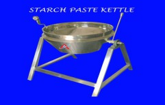 Starch Jacketed Paste Kettle by Akshar Engineering Works